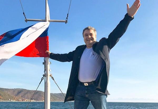 Кандидат в президенты Андрей Богданов