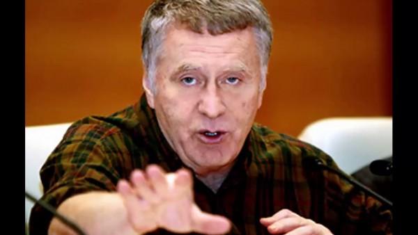 Кандидат в президенты Владимир Жириновский